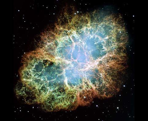 Crab Nebula. Image courtesy NASA