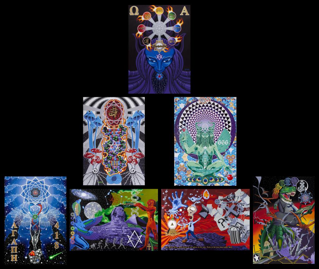 3rd Eye Art: Paintings By Josh Iceton3rd Eye Art